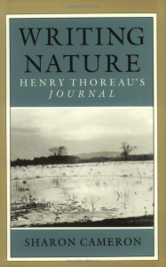 Henry Thoreau The Journal David Cobham