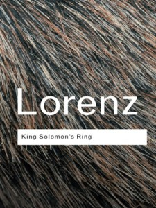Kings Solomons Ring by Konrad Lorenz
